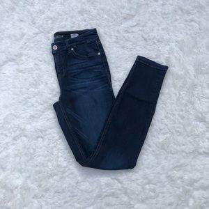 Anthropologie Level 99 Mid Rise Liza Skinny Jeans